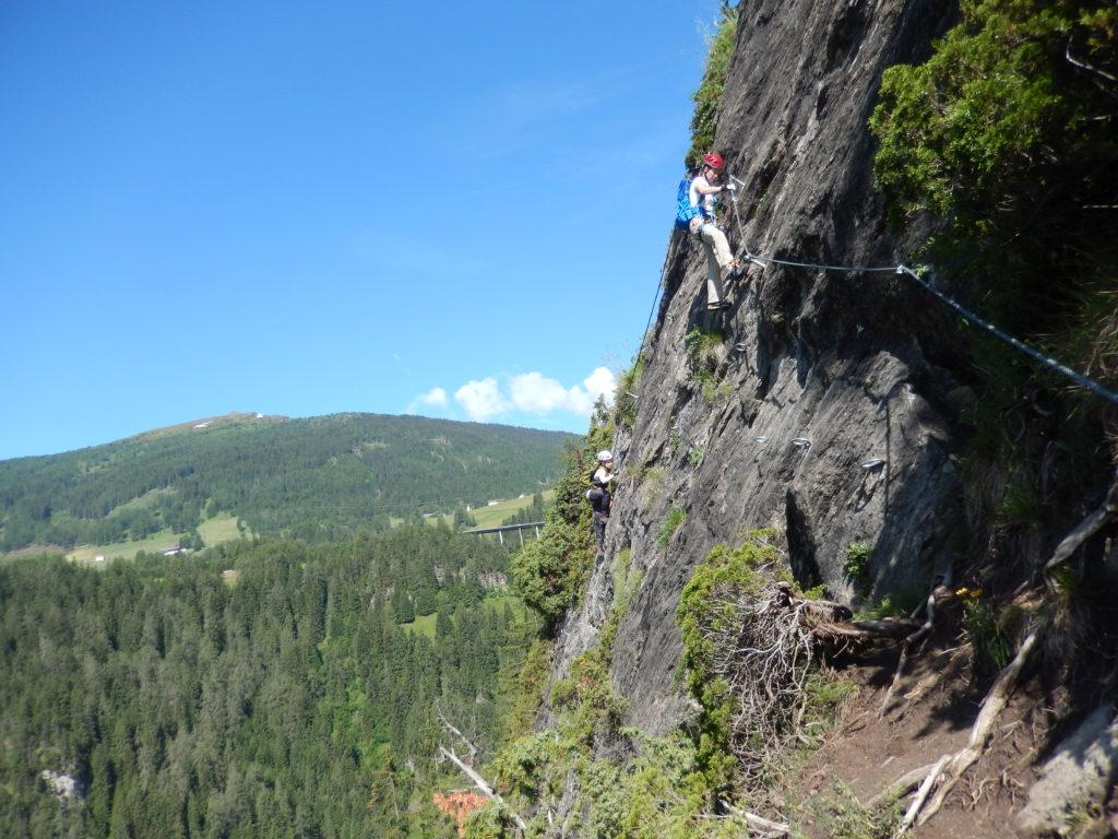Wipptal Bergsteigerdorf St. Jodok Klettersteig