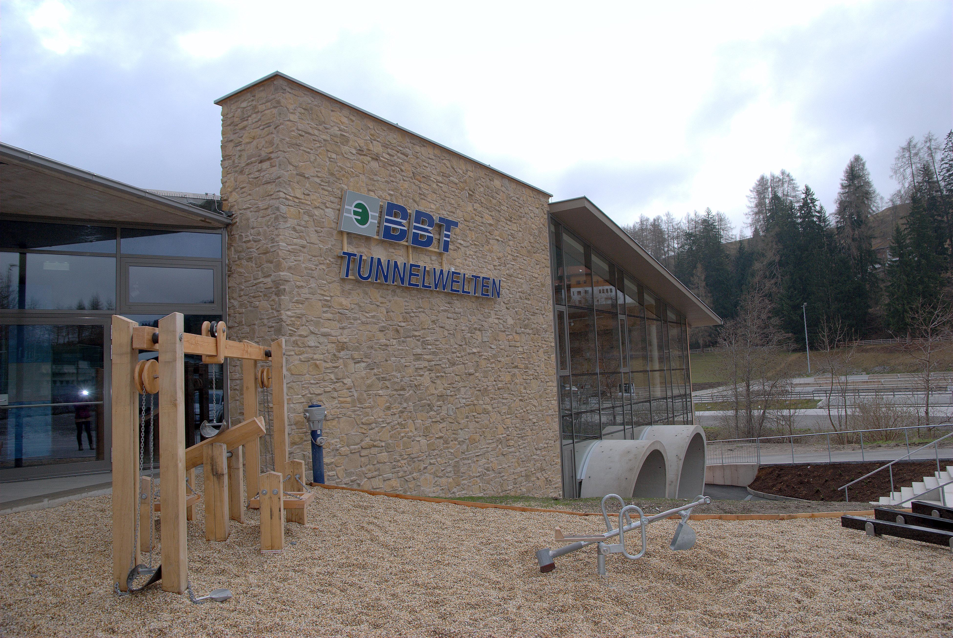 Die BBT Tunnelwelten in Steinach, Wipptal