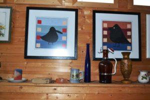 Kunstwerke mit Rabenmotiven