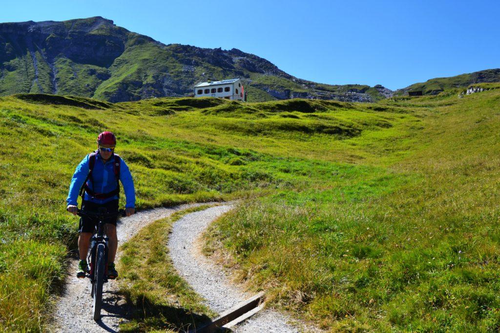 Bike und Wandern Padasterjochhaus Trins (3)