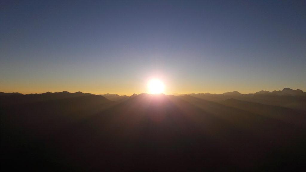 Sonnenaufgang Serles