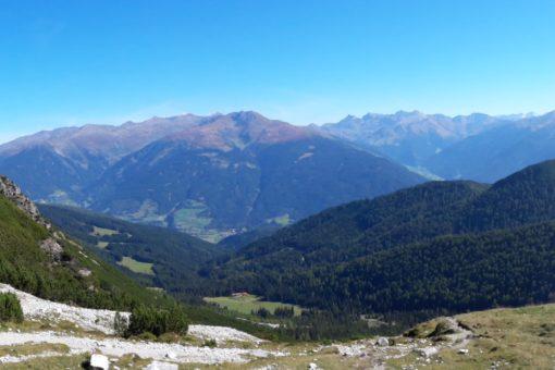 Panorama Abstieg