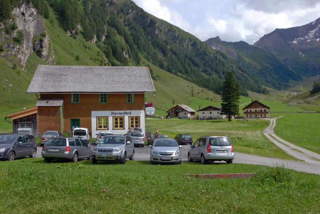 Alpengasthof Kasern in Schmirn