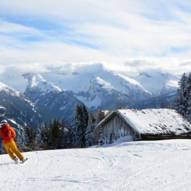 Wie viele Pistenkilometer braucht man zum Skifahren?