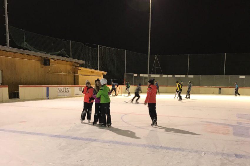 Eislaufen in St. Jodok