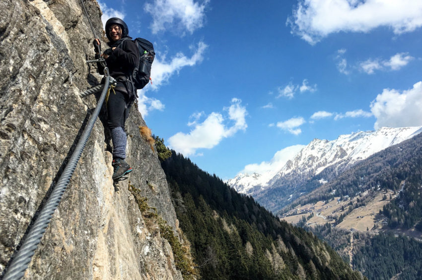 Klettersteigset Wie Benutzen : Tausche tourenski gegen klettersteigset u wipptal
