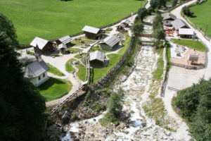 Übersicht Mühlendorf von oben