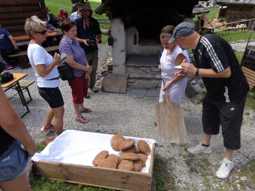 Fertiges Brot zum Verkauf