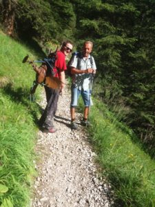 AufstiegmitHabicht_Klettersteig_St.Magdalena_Gschnitztal