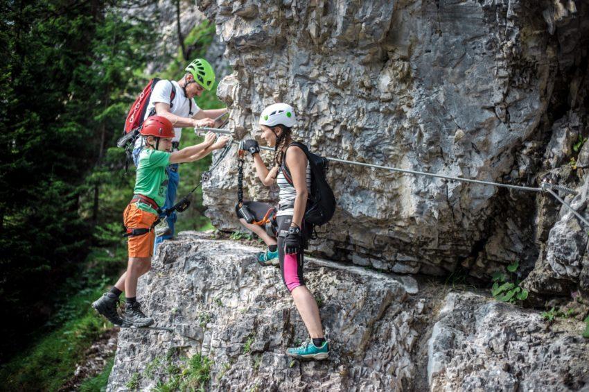 Klettererlebnis für die Familie