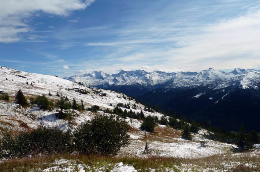 Blick zum Olperer von Obernberg