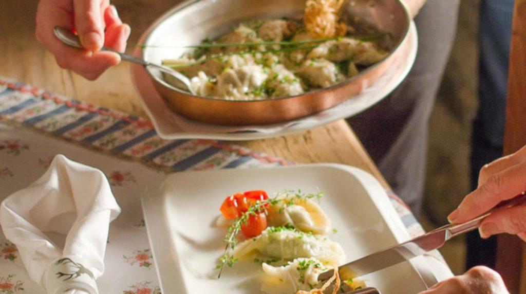 Köstlichkeiten vom Gasthof Lamm in Matrei