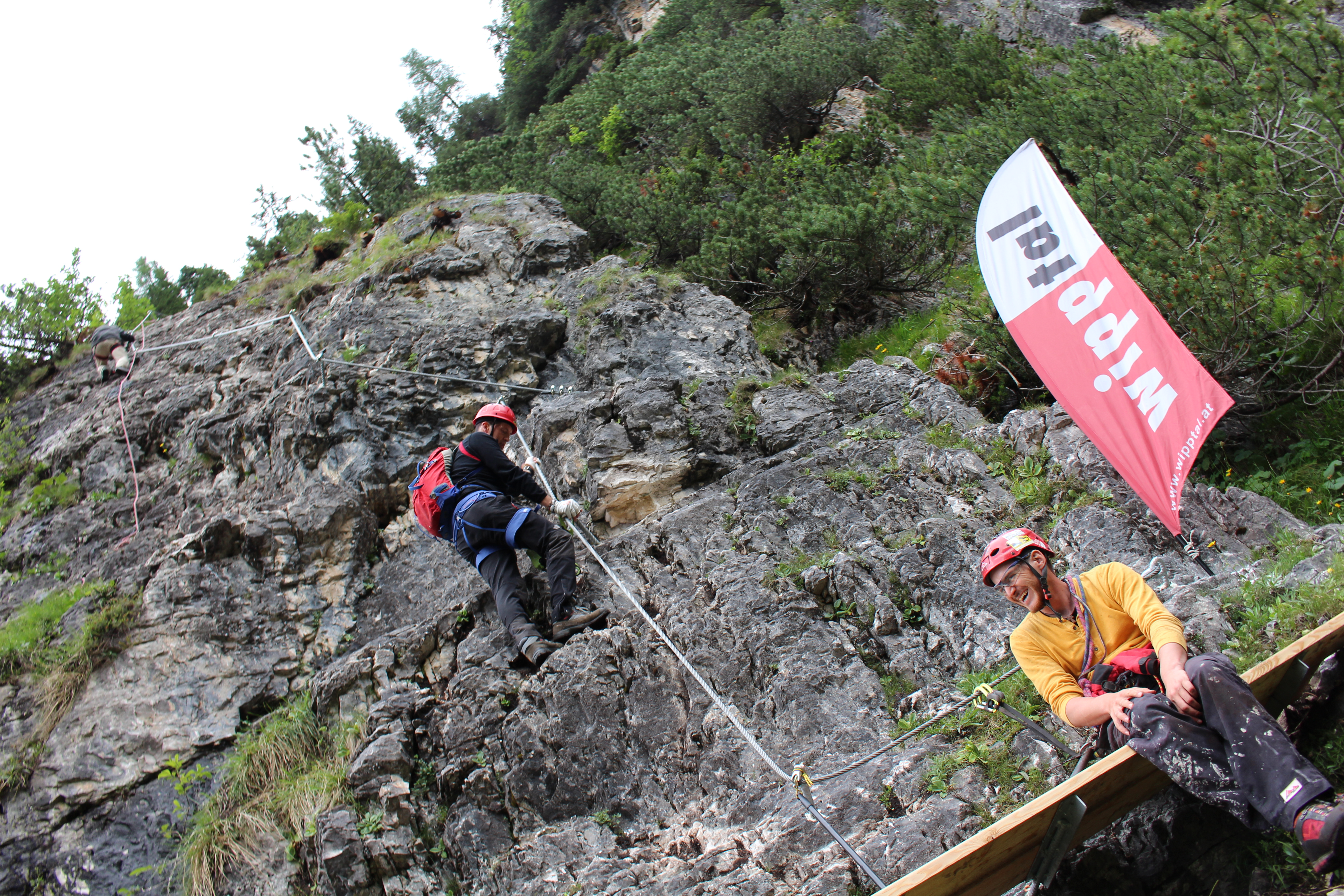 Klettersteigset Montieren : Der drahtseilzieher u2013 wipptal blog