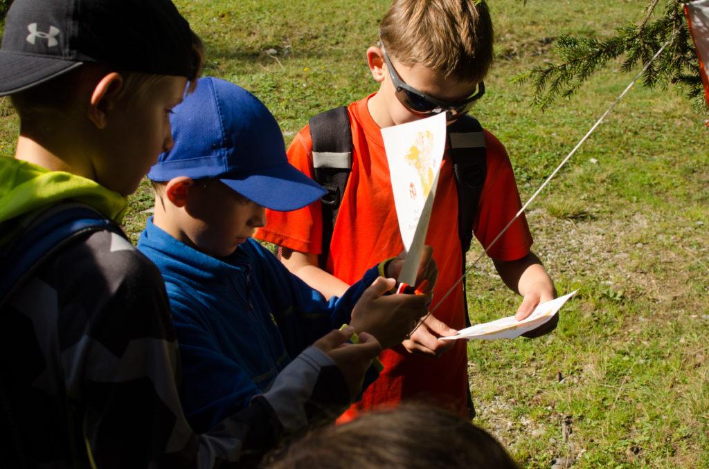 Abenteuerprogramm mit Schatzsuche am Obernberger See
