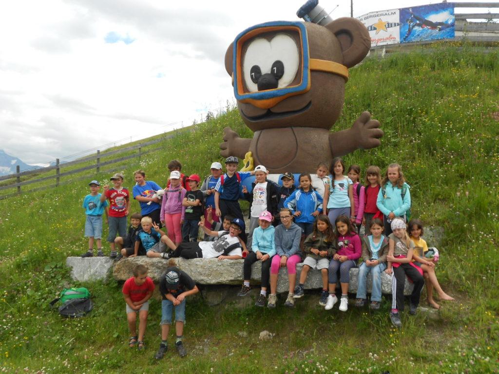 Ausflug zum Bärenbachl in Steinach