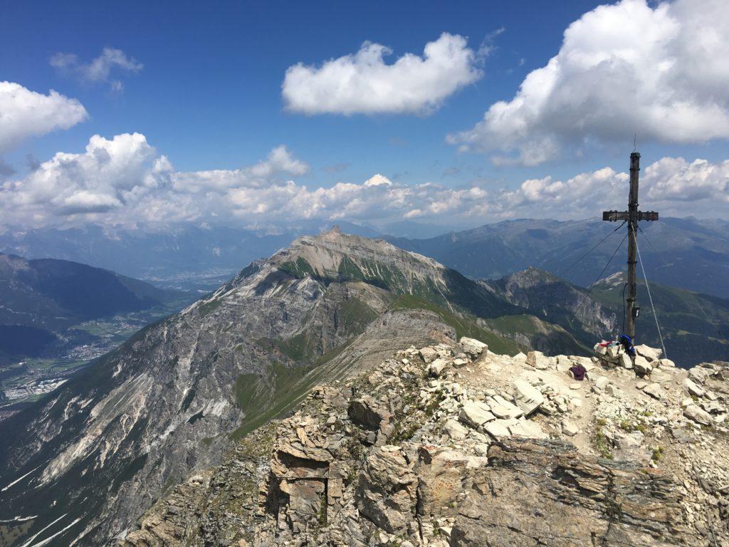 Am Gipfel der Kirchdachspitze - ein kleines Extra das sein muss