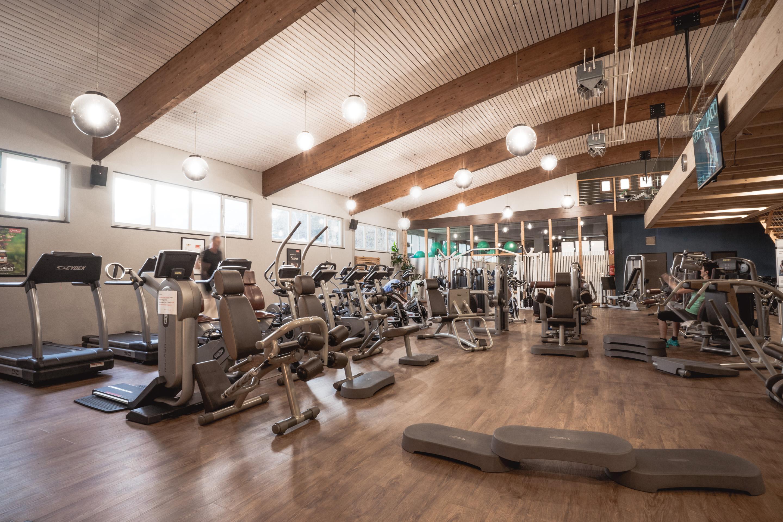 Fitnessbereich im basecamp Matrei (c) Klemens Hörtnagl