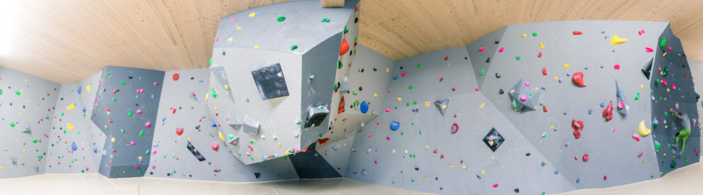 Neuer Boulderbereich im basecamp (c) K. Hörtnagl