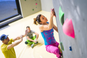 Fit for the rock – basecamp climbing centre