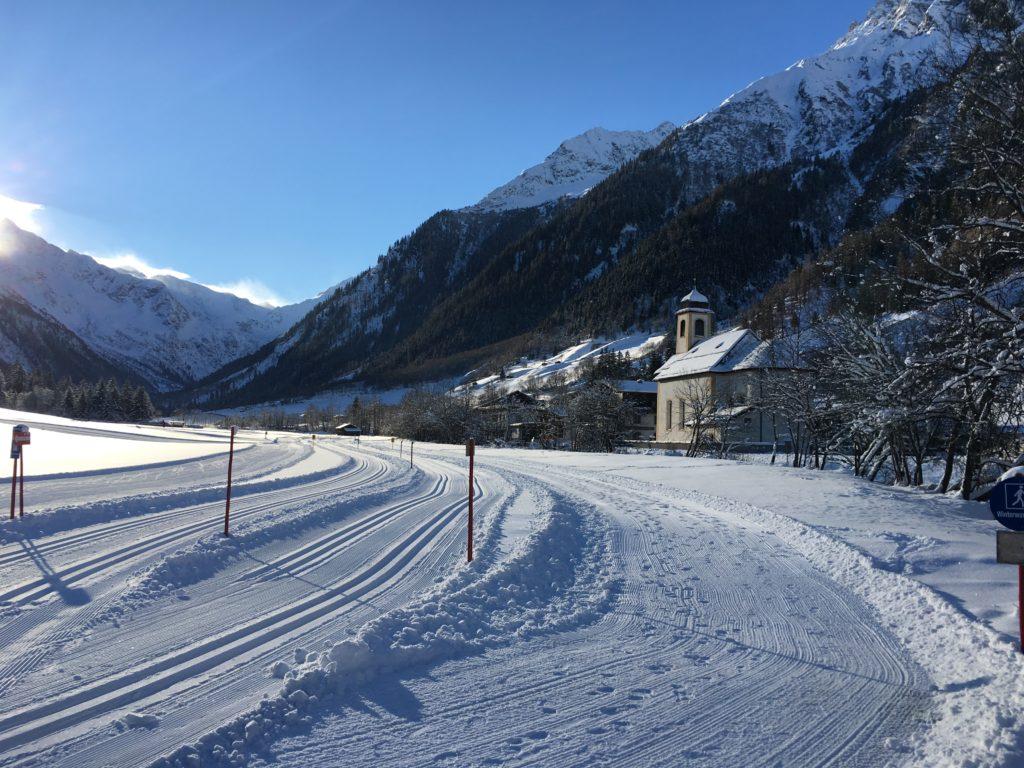 Langlaufen im Gschnitztal