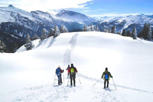 Schneeschuhwandern im Wipptal