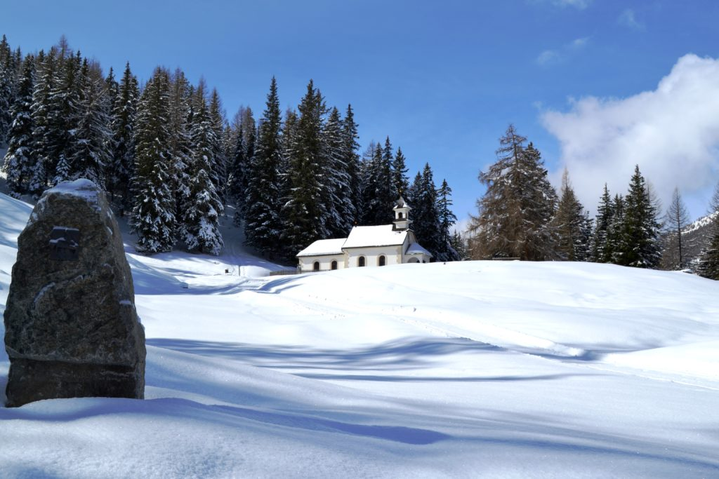 Kalte Herberge auf dem Weg zur Zirmahütte