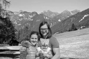 Familie Holzmann - Daniela, Peter und Tochter Amalia