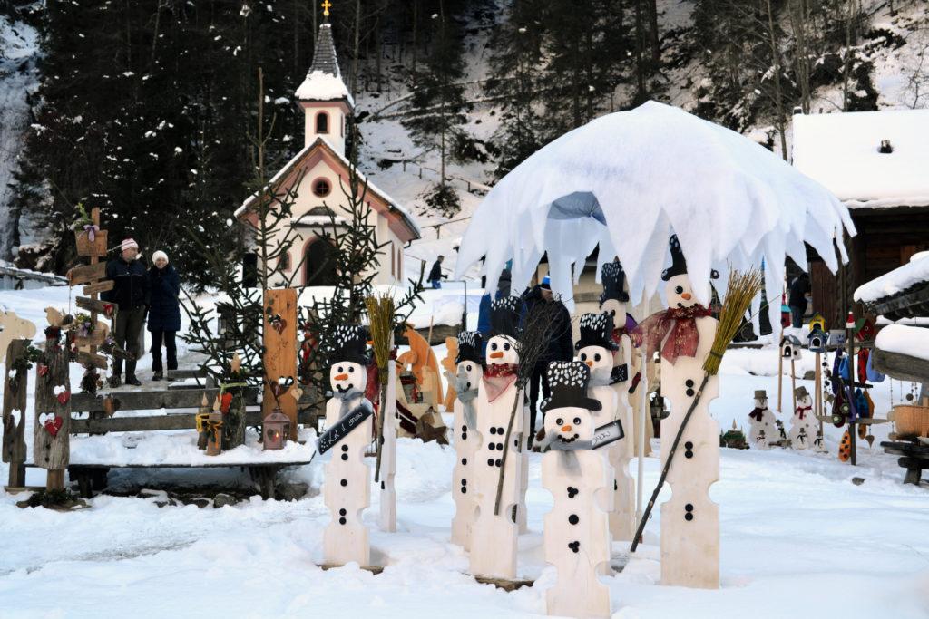 Mühlendorf im Advent