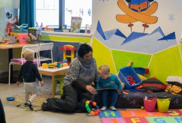 Kinderbetreuung auf der Bergeralm