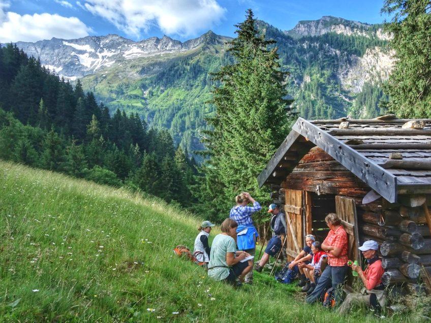Bergmahd Ocherloch Valsertal Schule der Alm 4
