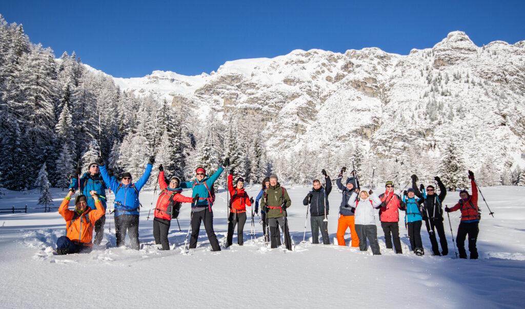 Gruppenbild Aktivwoche Winter