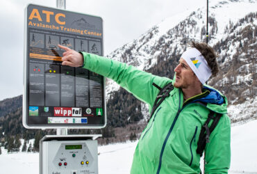 Sicherheit am Berg – LVS Park in Schmirn