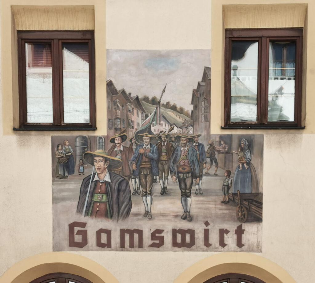 Fresko Gamswirt Matrei