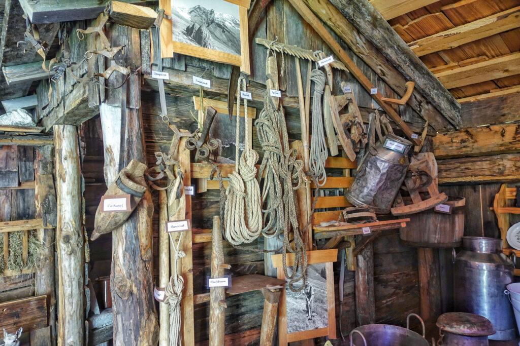 Sammlung Geräte Landwirtschaft