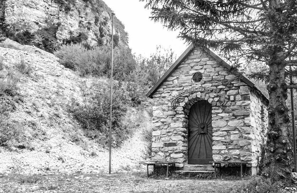 Die Hubertuskapelle in Obernberg